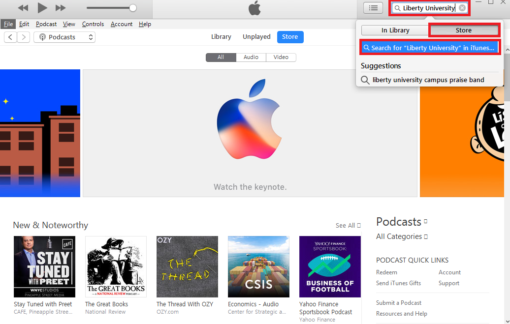 Public Knowledge - Using iTunes U to Download Course Lectures to My