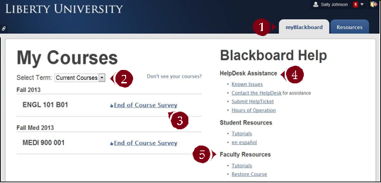 ... The Blackboard Server Directly Via Learn.liberty.edu. To View The  Options Listed In This Article, Access Blackboard From The Liberty Homepage  Or MyLU.
