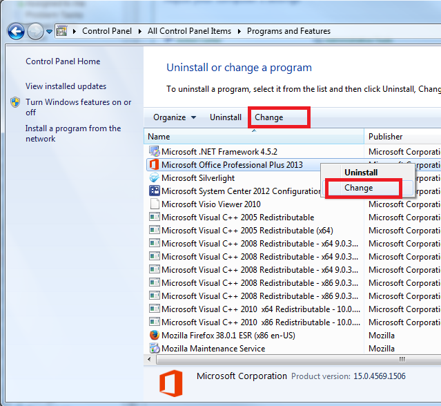 microsoft office 2010 not uninstalling