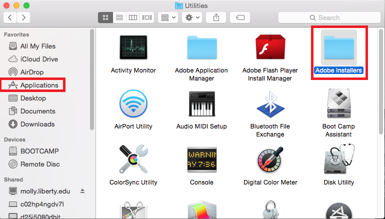 Public Knowledge - How do I uninstall Adobe CC Apps to make way for