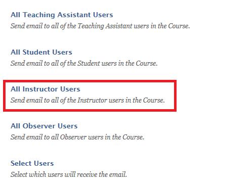 Public Knowledge - How do I email my professor in Blackboard?