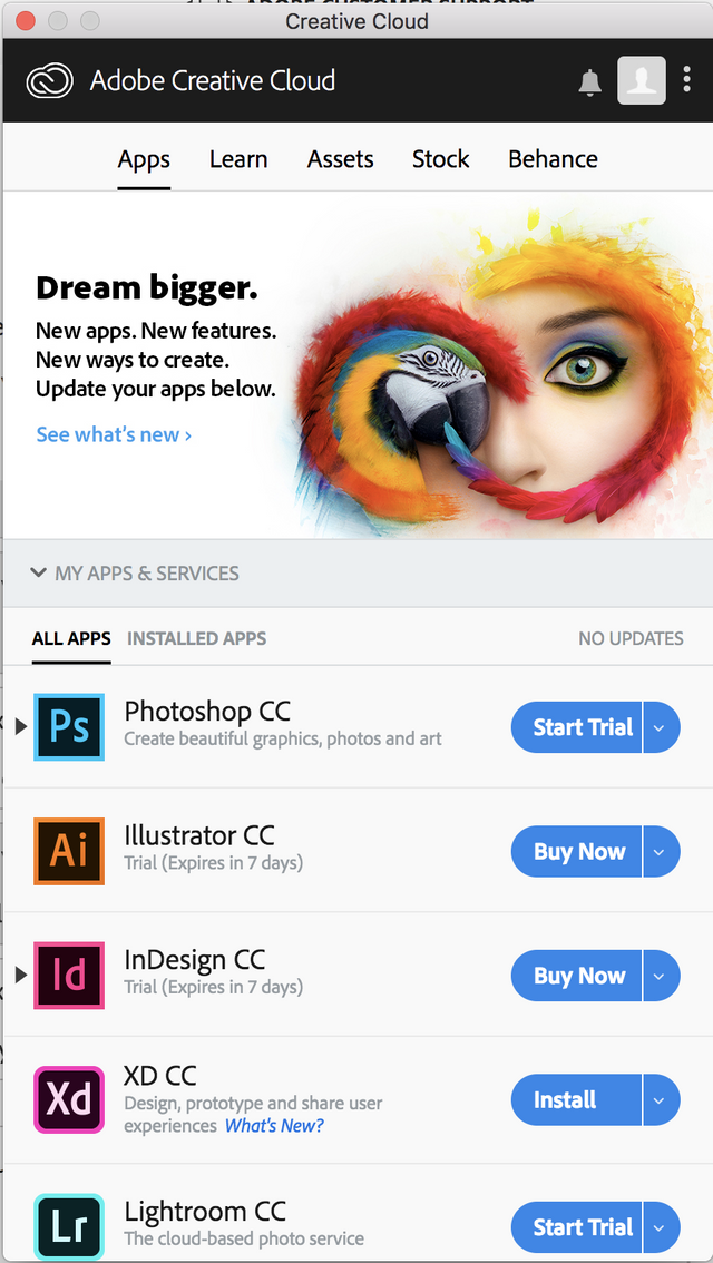 Public Knowledge - Why Are My Adobe Creative Cloud Apps Showing