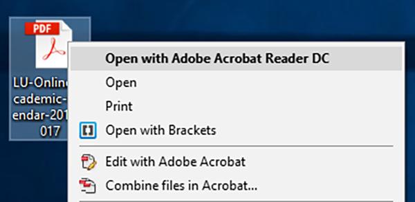 creating pdf adobe