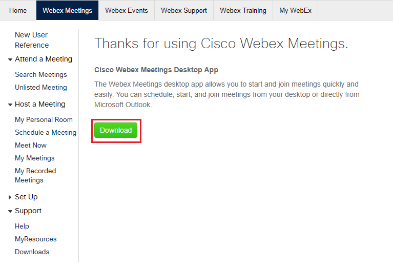 Public Knowledge - How do I use the WebEx Meeting Center?