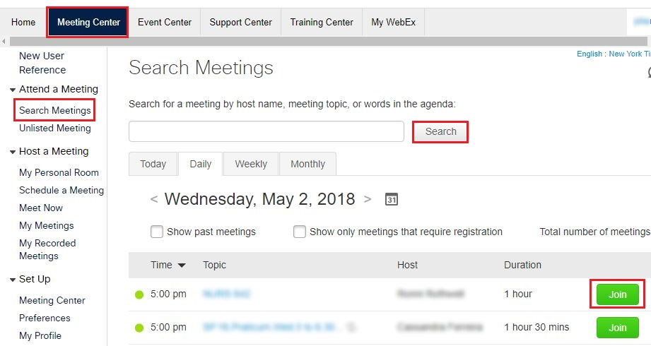 Public Knowledge - How do I join a WebEx meeting?