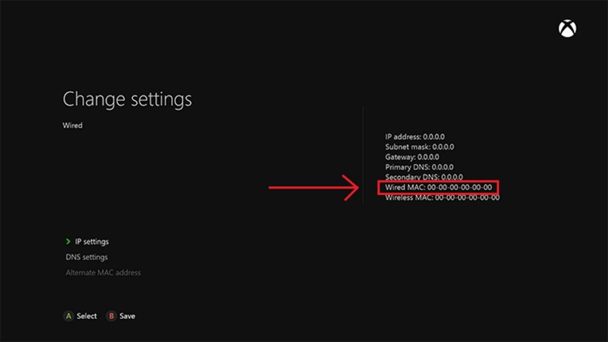 How do I find the Mac Address on my Xbox 360 or Xbox One?